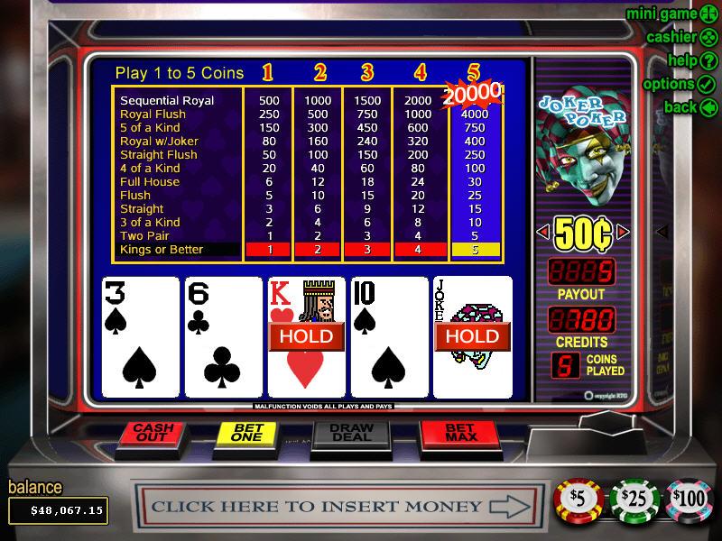 Videopoker spelform Red - 45202
