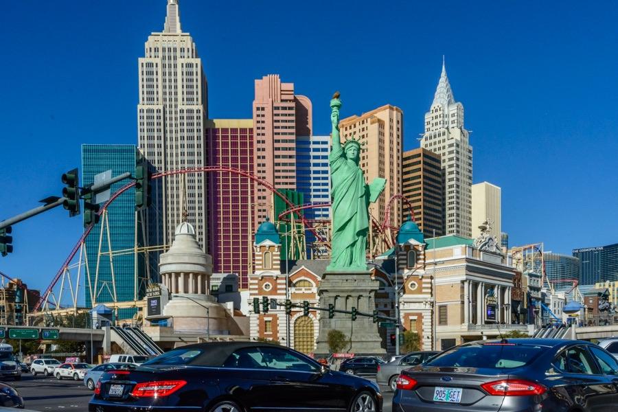 Las Vegas strip - 8462