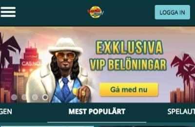 Casinon byter välkomstbonus - 79782