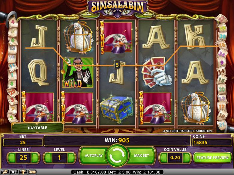 Simsalabim slot - 34884