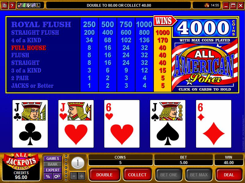 Videopoker spelform - 25918