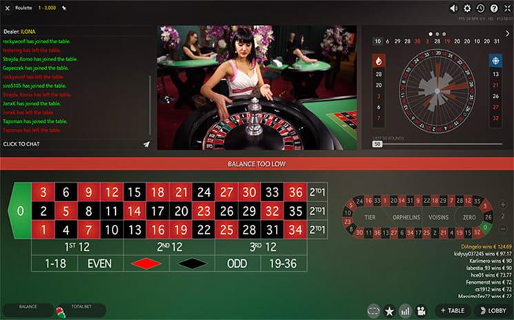 Roulette termer - 59718
