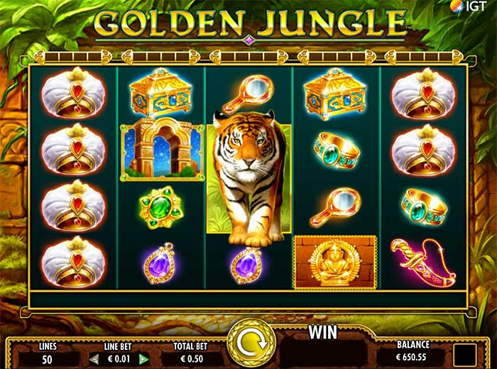 Jungle Games slot - 98783