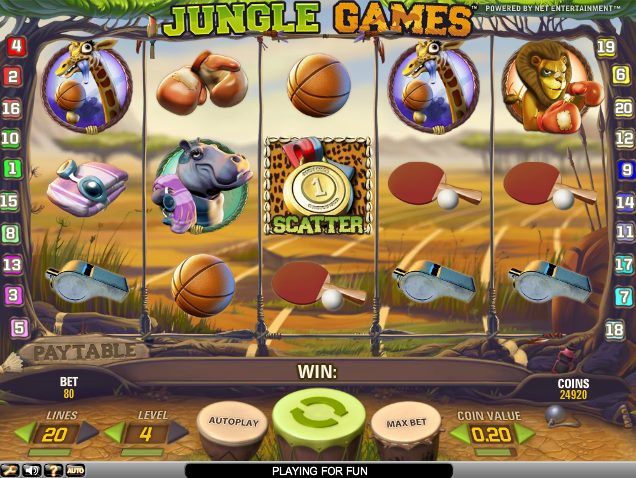 Jungle Games slot - 38805