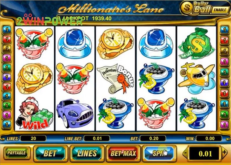 Millionaire Lane slot - 22339