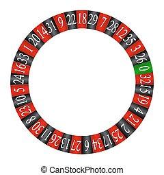 Roulette hjul - 84541