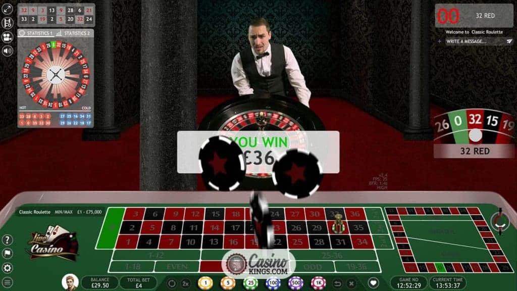 Live roulette cash - 52931