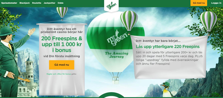 Freespins utan insättning - 98150