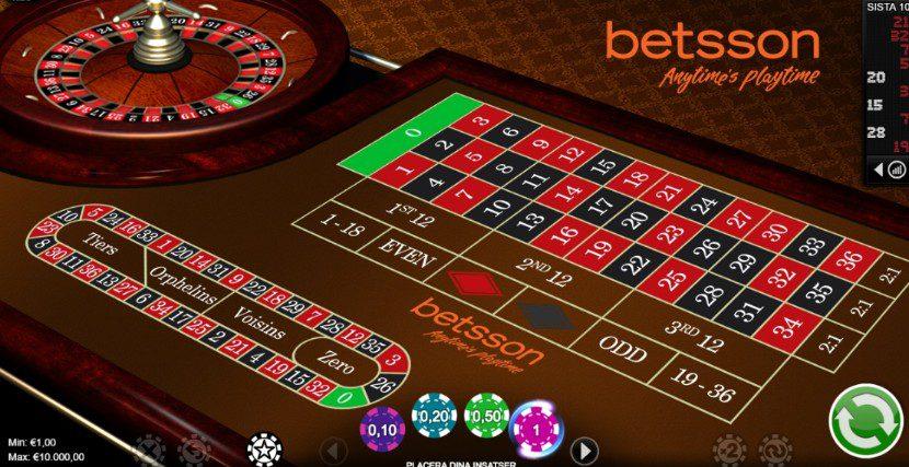 Spela roulette på - 39275