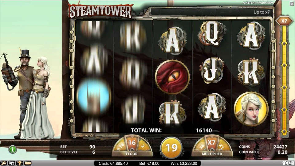 Steam Tower - 93003
