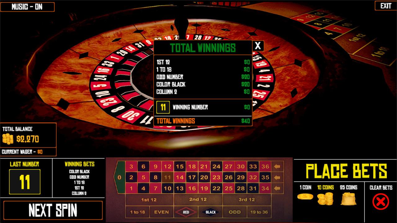 Roulette wheel - 74680