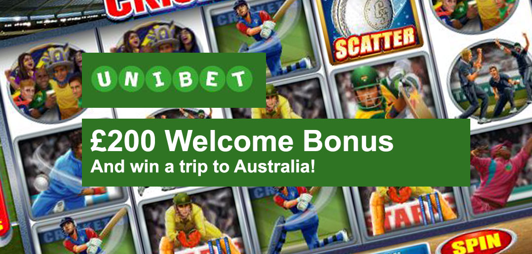 Welcome bonus Cricket - 85022