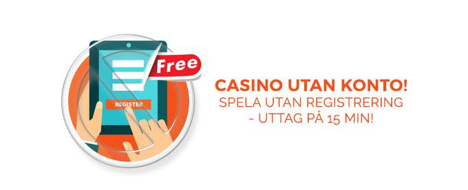 Casino utan - 14697