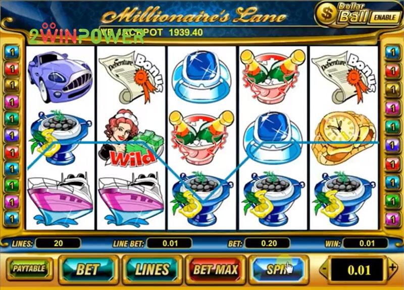 Millionaire Lane slot - 42704