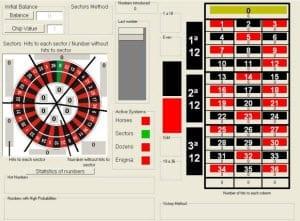 Roulette hjul - 67083