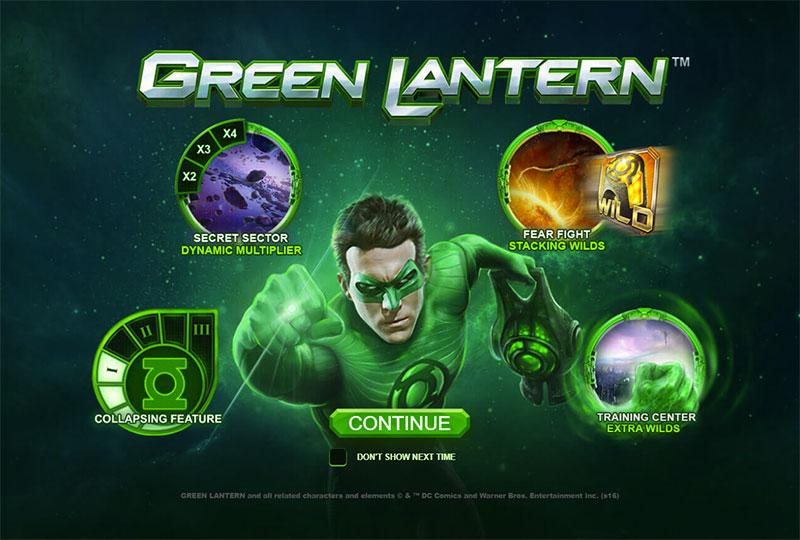 Green Lantern slot - 27463