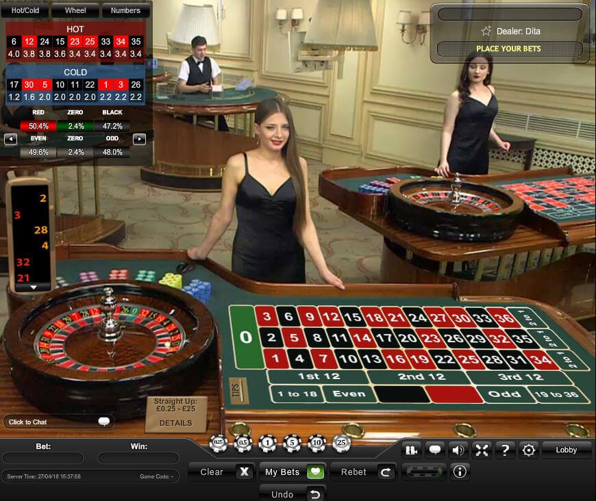 Live roulette - 11270