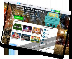 Casino faktura - 53301