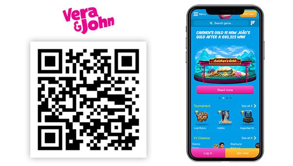 Verajohn mobile casino - 60360