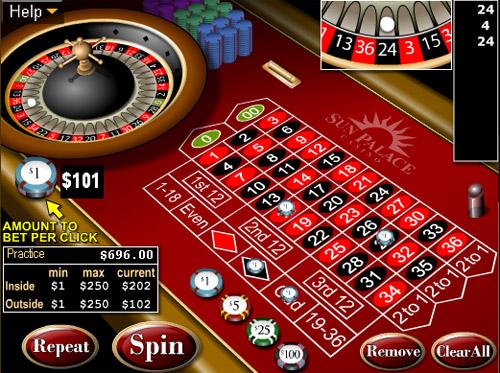 Roulette spel - 40990