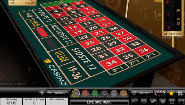 Live casino - 20813