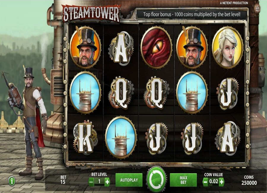 Steam Tower slot - 29702