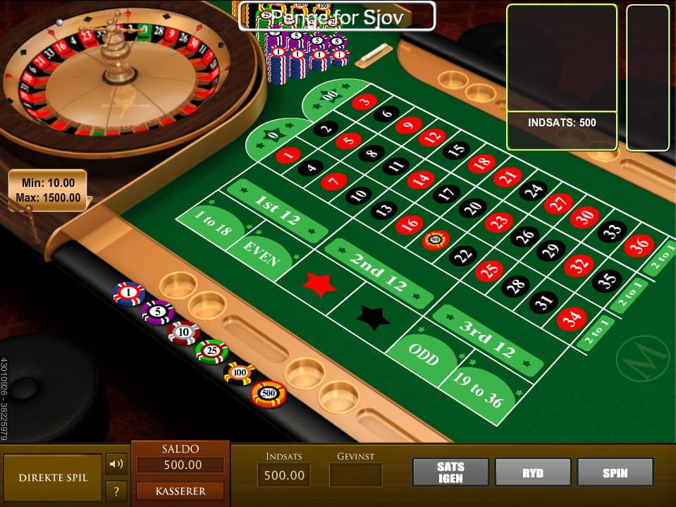 Amerikansk roulette - 99699