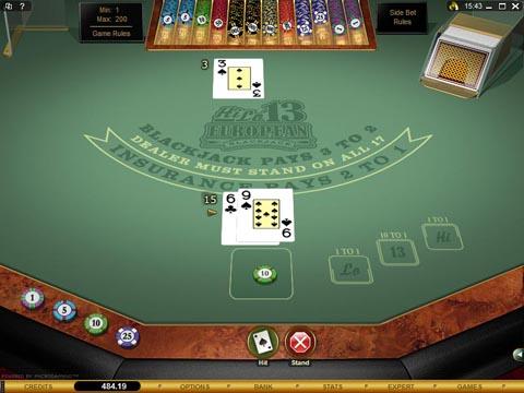 Blackjack basic strategy - 5413
