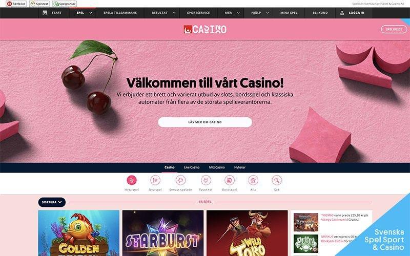 Casino se spela - 7635