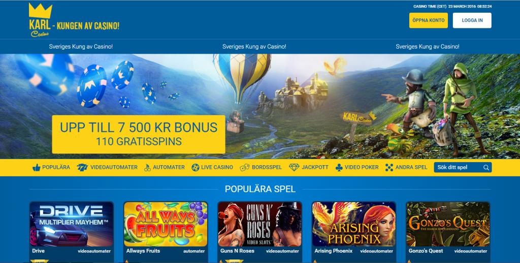 Casino välkomsterbjudande svenska - 32102