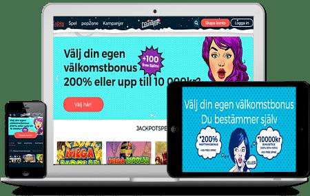 Casino välkomsterbjudande svenska - 84059