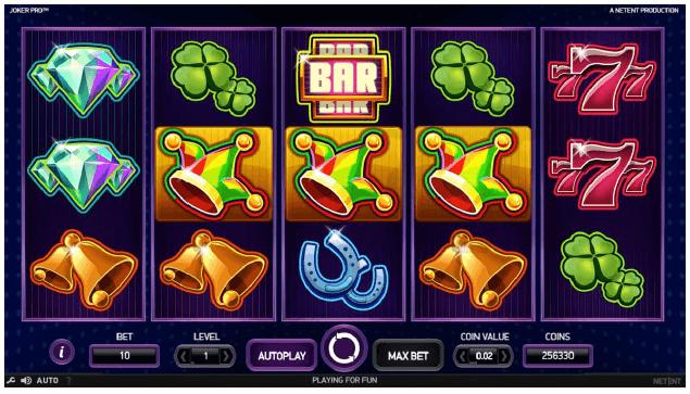 Joker Pro slot - 99271