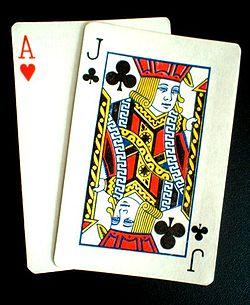 Blackjack strategi - 55544