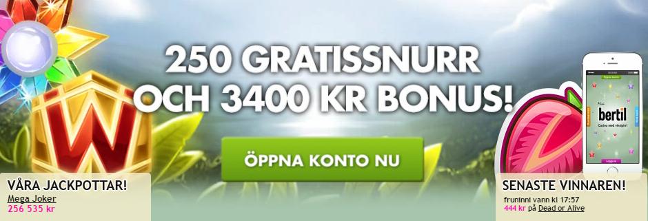 Freespins tidsbegränsat - 65578