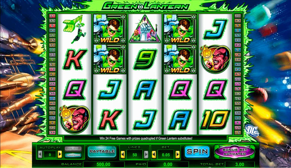 Green Lantern slot - 69233