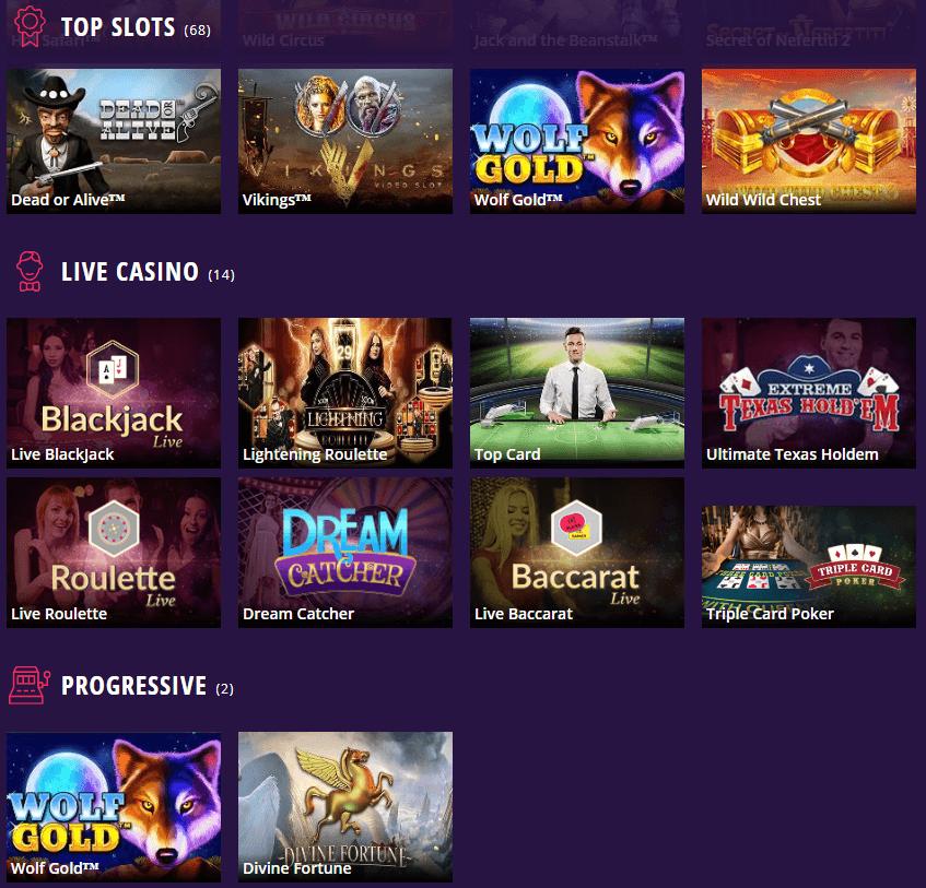 Jämför Svenska casino - 65011