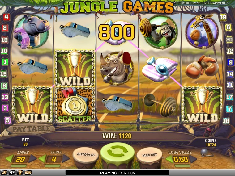 Jungle Games slot - 21760