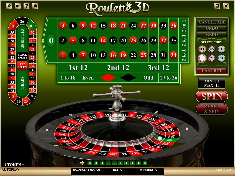 Live roulette - 23343