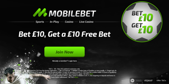 Mobile bet - 12032