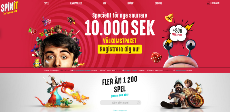 Party med freespins - 28700