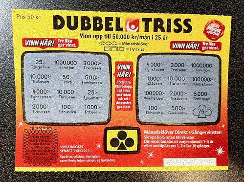 Triss vinster - 86206